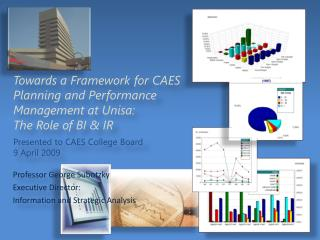 Towards a Framework for CAES Planning and Performance Management at Unisa:  The Role of BI & IR Presented to CAES Colle