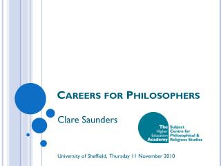 Careers for Philosophers