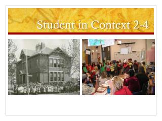 Student in Context 2-4