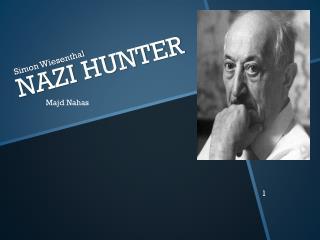 NAZI HUNTER