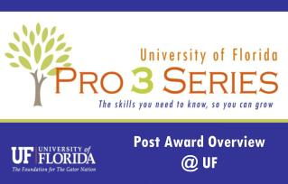Post Award Overview @ UF