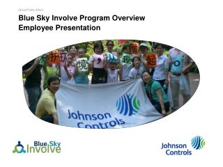Blue Sky Involve Program Overview  Employee  Presentation