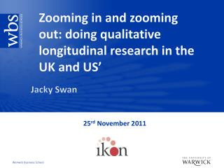 Zooming in and zooming out: doing qualitative longitudinal research in the UK and US'