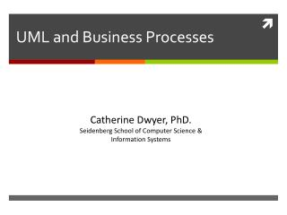 UML  and Business Processes