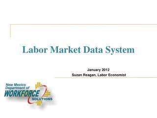 Labor Market Data System