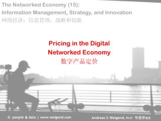 Pricing in the  Digital Networked  Economy 数字产品定价