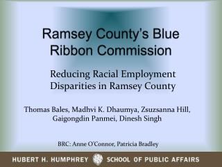 Ramsey County's Blue Ribbon Commission