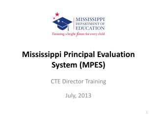 Mississippi Principal Evaluation System (MPES)