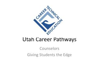 Utah Career Pathways