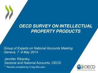 OECD survey on intellectual property products