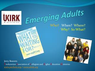 Emerging Adults