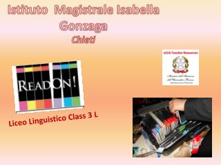Liceo Linguistico  Class  3 L