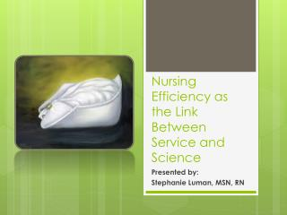 Nursing Efficiency as the Link Between Service and Science