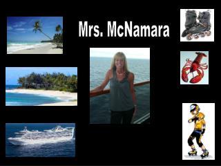 Mrs. McNamara