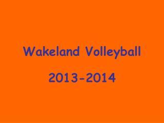 Wakeland Volleyball