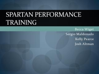 Spartan Performance Training