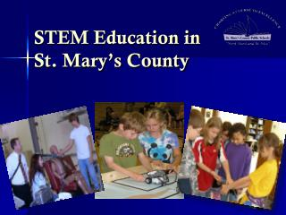 STEM Education in  St. Mary's County