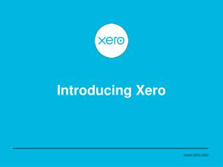 Introducing Xero