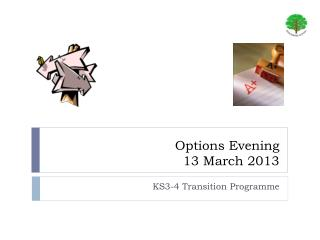 Options Evening 13 March 2013
