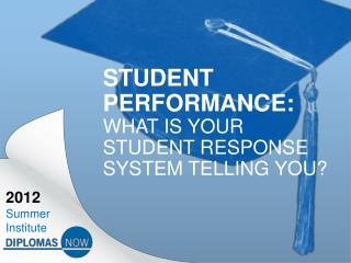 Student Performance:   What is your student Response System telling  you?