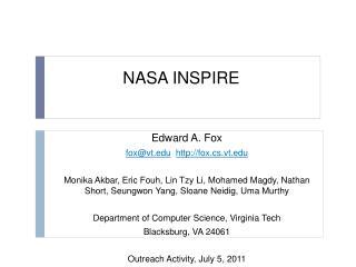 NASA INSPIRE