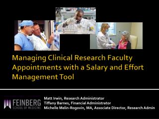 Managing Clinical Research Faculty Appointments with a Salary and Effort Management Tool