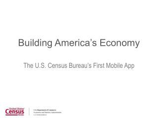 Building America's Economy