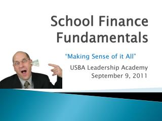 School Finance Fundamentals