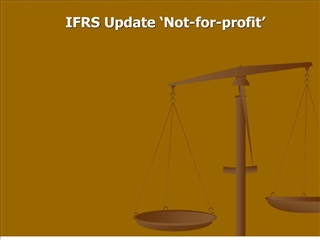 ifrs update  not-for-profit