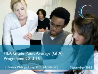 HEA Grade Point Average  (GPA)  Programme 2013-15