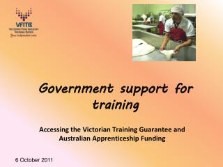 Government support for training