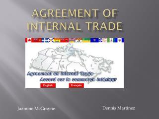 Agreement Of Internal Trade