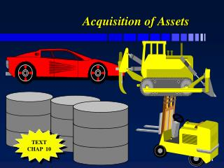 acquisition of assets