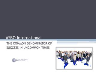 ASBO International