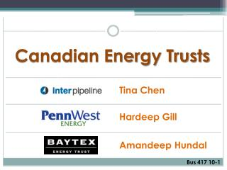 Canadian Energy Trusts