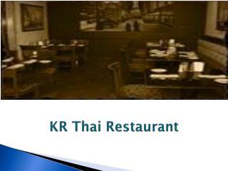KR Thai Restaurant