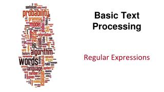 Basic Text Processing