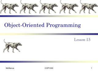oop basic overview Object-oriented programming with php this chapter introduces the readers to the basic features of object-oriented programming with php and then provides an overview of the common design.