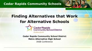 Cedar Rapids Community Schools