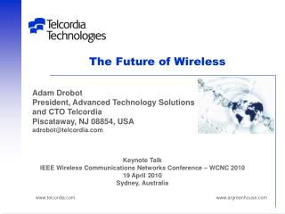 The Future of Wireless