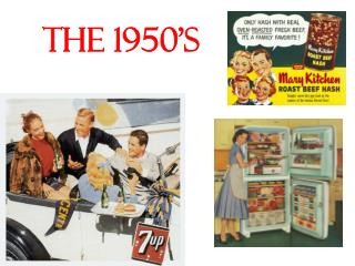 the 1950's