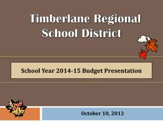 Timberlane Regional  School District