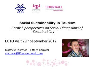 Social Sustainability in Tourism