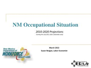 NM Occupational Situation