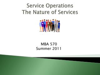 Service Operations The Nature of Services