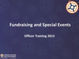 Fundraising and Special Events