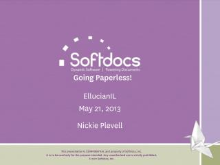 Going Paperless!