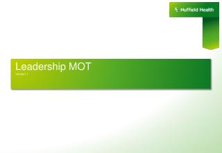 Leadership MOT  Version 1