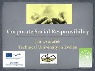 Corporate  S ocial R esponsibility