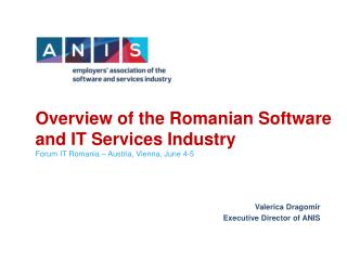 Overview of the Romanian Software and IT Services Industry